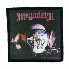 MEGADETH killing is my business Toppa (patch10x10) Kreator,Enforcer,Sanctuary