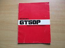 Werkstatthandbuch  Werkplaats Handboek Suzuki GT 50 P (1978)