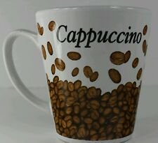 Trisa Stoneware Cappuccino Coffee Mug Cup 10 Oz Beans