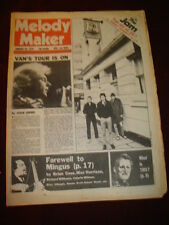 MELODY MAKER 1979 JAN 20 VAN MORRISON JAM CHARLES MINGUS BEE GEES RADIO ONE