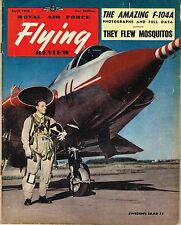 RAF FLYING REVIEW APR 56 FACSIMILE: F-104A/ 105 SQDN MOSSIES/ SAAB DRAKEN/ Ar234
