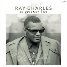 Ray Charles 24 GREATEST HITS Best Of ESSENTIAL Gatefold NEW Vinyl Passion 2 LP