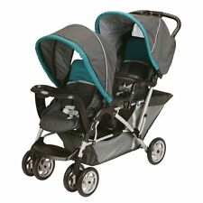 Graco 2015 DuoGlider Double Stroller In Dragonfly New!! Free Shipping!