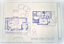 "The Andy Griffith TV Show House Home 322 Maple St. Mayberry Blueprints 24"" X 36"""