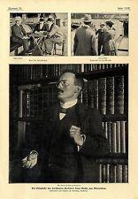 La vuelta del famoso investigador sven Hedin procedentes de asia central... estocolmo 1902