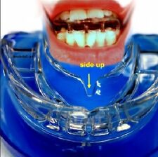 STOP SNORING RX MOUTHGUARD ANTI SNORE RELIEF ADJUSTABLE PURE Z'S SLEEP APNEA 4H