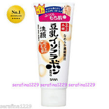 Japan SANA Nameraka Soy Milk Isoflavone Moisturizing Face Wash Cleanser ~W/Gift~