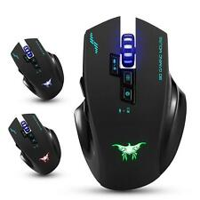 Combaterwing W100 Rechargeable 2.4G Wireless Wired Gaming Mouse Optical Mice