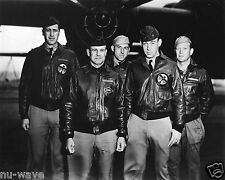 Crew of Plane #1   B-25 Doolittle's Raiders-Day of Raid on Tokyo- April-18-1942