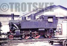 35mm Slide FS Italian Railways Steam Loco 880 020 Bari 1960 Original Italy