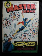 Master Comics 83 (G+; ins. cvrs. stained) FAWCETT, Golden Age comic (id# 15201)
