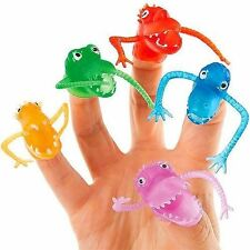 German Trendseller® - 8x Monster Fingerpuppen ┃Geburtstag┃Kinder┃Party┃Mitgebsel