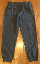 NEW Mens KENNETH COLE REACTION Charcoal Brushed Knit Lounge Sleep Pants Size 2XL