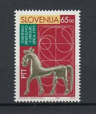 Slovenia 1993 campionato europeo di dressage 64 MNH