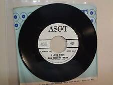 "MAD HATTERS:I Need Love 2:29-Blowin' In The Wind-U.S.7"" 65 Ascot Records 2197 DJ"