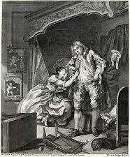 William Hogarth Print Reproduction: 'After' - Fine Art Print