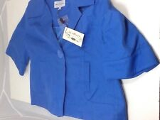 M&S Limited Collection Cornflower Single Button Jacket Size 12 NEW RRP £49.50