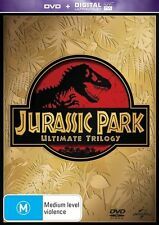 DVD JURASSIC PARK 1 2 & 3 TRILOGY LIKE NEW CONDITION  FREE POSTAGE
