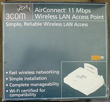 3Com 3CRWE747 96B AirConnect 11 Mbps Wireless LAN Network Access Point