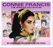 CONNIE FRANCIS - THE SINGLES COLLECTION, 60 ORIGINAL RECORDINGS (NEW SEALED 3CD)