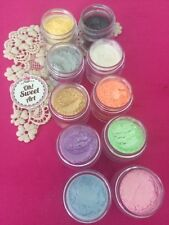 Baby pearl dust SET 10 colors , Fondant coloring  luster Cake Decorating 5g each