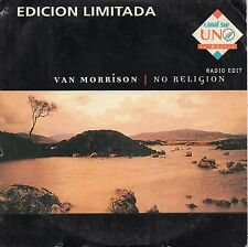 "VAN MORRISON ""NO RELIGION"" RARE SPANISH LIMITED EDITION CD SINGLE / CANAL SUR"