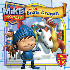 "Simon & Schuster UK Mike the Knight and the Snow Dragon ""AS NEW"" Book"