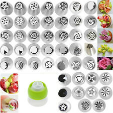 New Russian Tulip Rose Icing Piping Nozzles Tips Cake Decorating Baking Tool Set