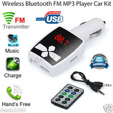 MP3 Player Wireless FM Transmitter Modulator LCD Car Kit USB SD MMC LCD Remote