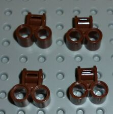LEGO - TECHNIC - Axle & Pin Connector Perpend Double BROWN x 4 (32291) TK326
