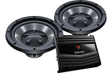 KENWOOD PW1220 PW-1220 WOOFER AMP COMBO PACK SUBWOOFER