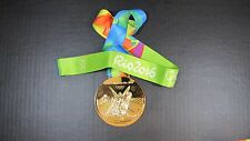 GOLD MEDAL - 2016 RIO OLYMPICS - WITH SILK RIBBON & STORAGE POUCH