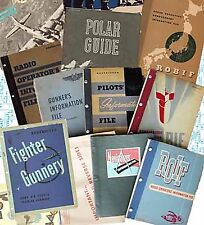 PDF 12 MANUALS INFORMATION FILES PILOT BOMBARDIER GUNNER B-29 AAF WWII DVD-ROM