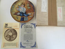 """""""My Coin Collection"""" Charlotte Jackson Treasures of Childhood Collector Plate"""