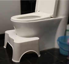 Thick plastic Cosy non-slip bathroom toilet ottoman footstool foot stool Healthy