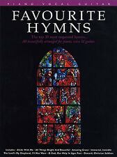 Favourite Hymns Learn to PLAY School Assembly Piano Guitar PVG Music Book