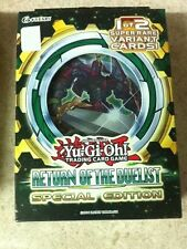YuGiOh Return of the Duelist Special Edition SE Factory Sealed Deck/Box 3pk Eng