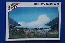 Panini WC MEXICO 86 N. 25 LEON WITH BACK VERY GOOD CONDITION!!
