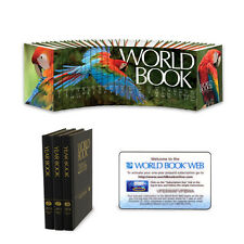2013 World Book Encyclopedia Set. Package w/ Year Books & Web Subscription