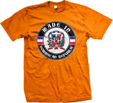 Made In Dominican Republic República Dominicana Pride Mens T-shirt