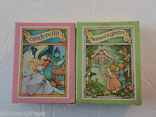 Lot of 2 Vintage Avon Storybook Soap - Cinderella and Hansel & Gretel - NEW