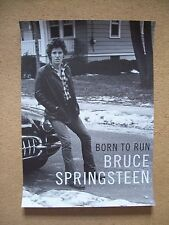 Bruce Springsteen  'Born To Run'  bookstore promotional poster