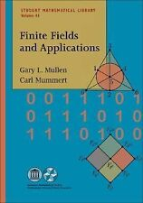 Finite Fields and Applications (Student Mathematical Library) ~ Gary L. Mullen;