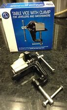 New Watchmaker's/Jewelers Bench Vise 32mm Jaws - Free Shipping !