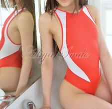 Women Sexy One Piece Swimwear Cut Out Leotard Thong Bodysuit Beach Bathing Suit