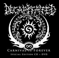 Decapitated - Carnival is Forever CD+DVD 2011 limited digipack death metal