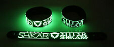 Enter Shikari NEW! Glow in the Dark Rubber Bracelet Wristband Anaesthetist gg167