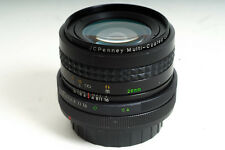 JCPENNY multi-coated optics 28mm f/2.8 Lens for CANON FD mount