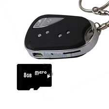 New 8GB 720*480 HD Mini 909 Remote Cam Video Recorder Car Key Chain DVR Recorder