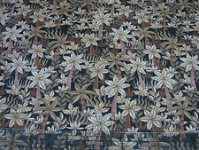 3 Yards Quilt Cotton Fabric- RJR Dan Morris Jungle Land Trees Forest Brown